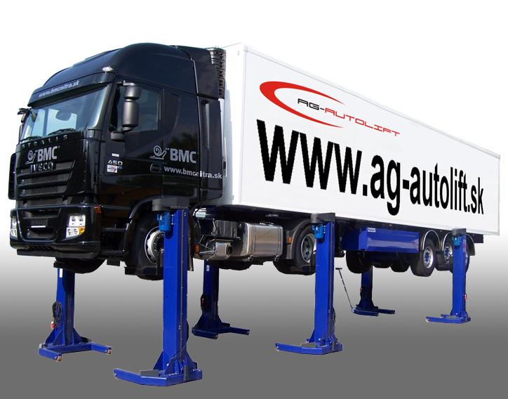 Zdviháky pre nákladné automobily