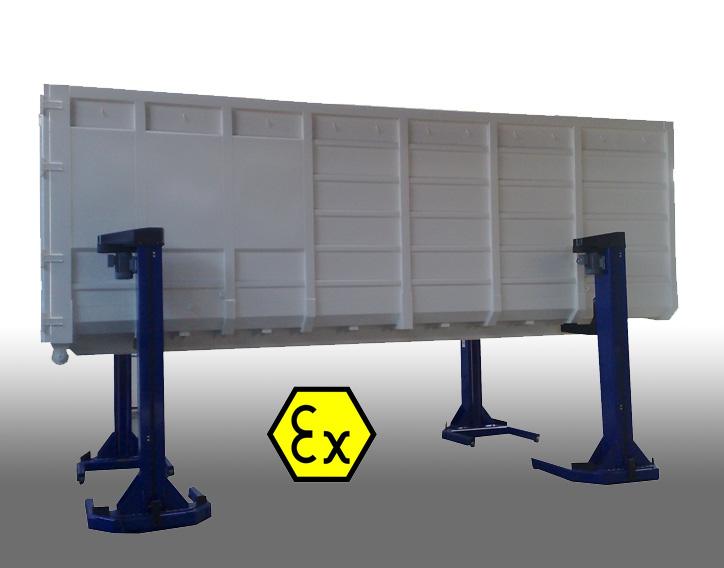 Zdviháky do výbušného prostredia EX